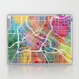 Minneapolis Minnesota City Map Laptop & iPad Skin