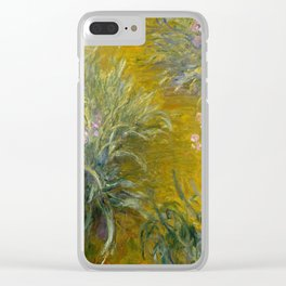 The Path through the Irises Clear iPhone Case