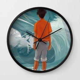 Son of Poseidon - Whirlpool Wall Clock