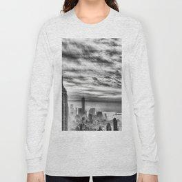 New York skyline cv Long Sleeve T-shirt