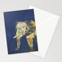 Elephant - The Memories of an Elephant Stationery Cards