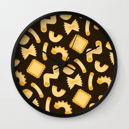 Pasta Shapes Wall Clock