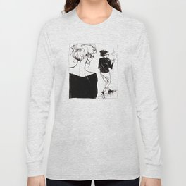 Girls Who Wear Glasses by Kat Mills Long Sleeve T-shirt