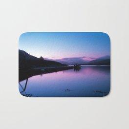 Loch Leven Sunset Bath Mat