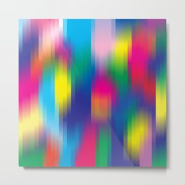 color pixel Metal Print