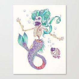 Sirens Last Song Canvas Print