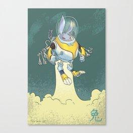 Astro Zodiac Force 04: Rabbit Canvas Print
