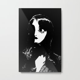 Art Deco Woman - Sin City Style Metal Print