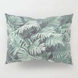 Fern Patten Turquoise Texture Pillow Sham