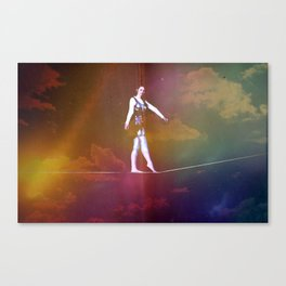 Tight Rope Canvas Print
