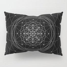 Transcendence - White on Black Version Pillow Sham