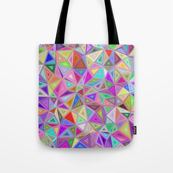 Triangular happiness Tote Bag