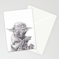 Yoda sketch Stationery Cards