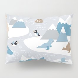 Arctic animals Pillow Sham