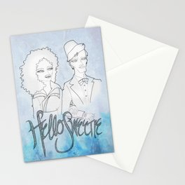 The Doctor & River Stationery Cards