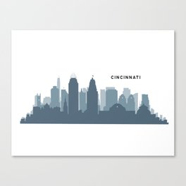 Queen City Skyline Canvas Print