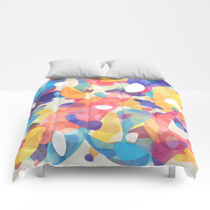 Chaotic Construction Comforters