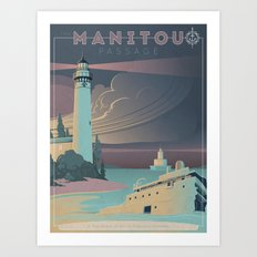 The Manitou Passage Art Print