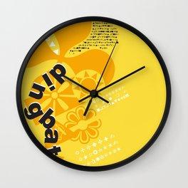 Dingbats Wall Clock