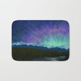 Arctic Aura - Painting Bath Mat