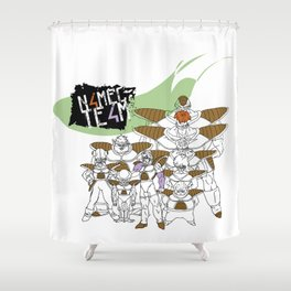 Namec Team Shower Curtain