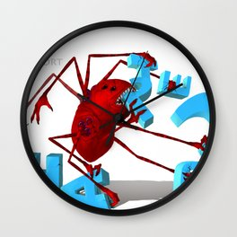 Lort Eating Chapter 3 Wall Clock