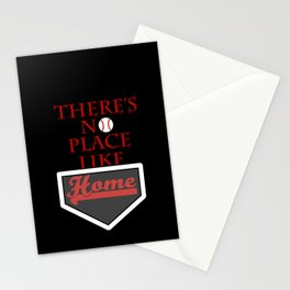 There's no place like home (baseball theme) Stationery Cards