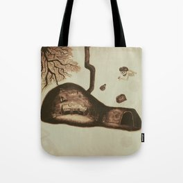 Cave of Resonance Tote Bag