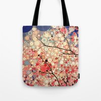 positive Tote Bags featuring Positive Energy by Olivia Joy StClaire
