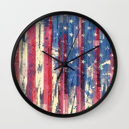 Amerikka Wall Clock