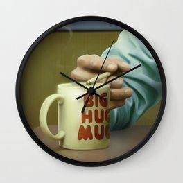 Big Hug Mug Wall Clock