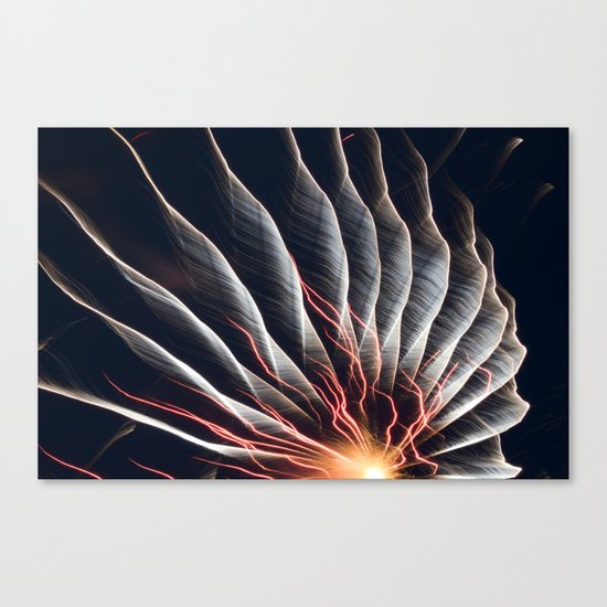 Swirl Lights Canvas Print