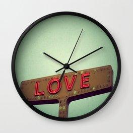 Love Signs Wall Clock