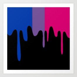 Bisexual Slime Art Print