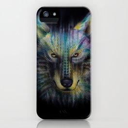 wolf_1 iPhone Case