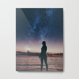 Child Of The Cosmos Metal Print
