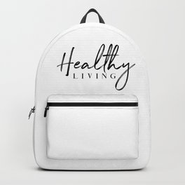 Healthy Living Backpack