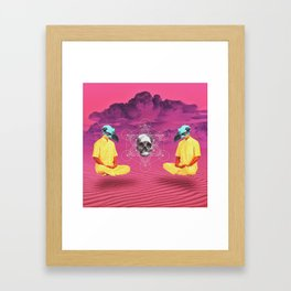 deep vision  Framed Art Print