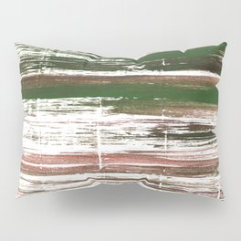 Kombu green abstract watercolor Pillow Sham