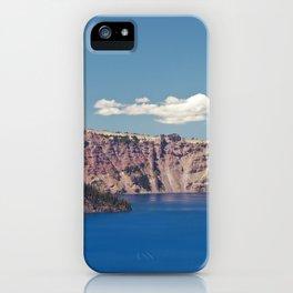 Crater Lake, Mount Mazama, Oregon, Northwest Mountain iPhone Case