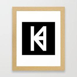 HK Logo  Framed Art Print
