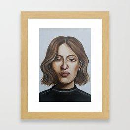 Satin Chic Framed Art Print