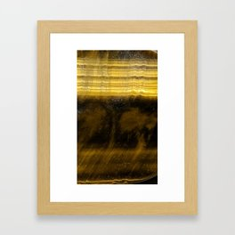 Tiger Eye Framed Art Print
