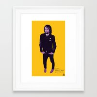 aragorn Framed Art Prints featuring 2000's Aragorn by LoweakGraph