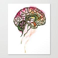 Brain. Canvas Print