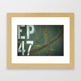 EP47 Framed Art Print