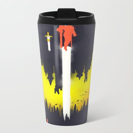 Castlevania: Symphony of the Night Metal Travel Mug