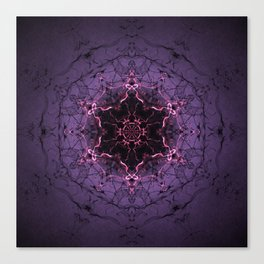 Ancient Stargate Mandala Canvas Print