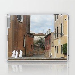 3 Nuns Venice Italy Photograph | Christian Sisters | Catholic Photography Laptop & iPad Skin
