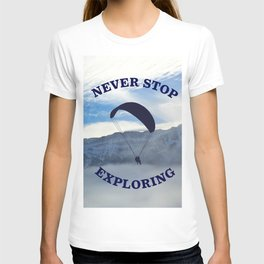 Swiss Alps // Never Stop Exploring T-shirt